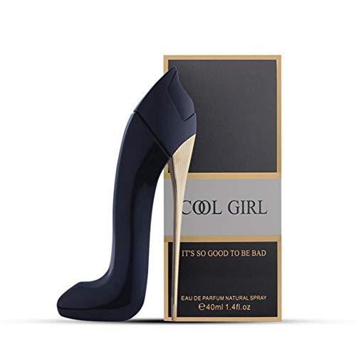 Frauen-Parfüm, 40ml Dame hochhackige Schuhe Design Floral Zerstäuber Parfüm Duft langanhaltendes Parfüm Edel High Heels