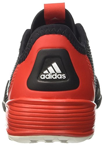 adidas Ace Tango 17.2 In J, Chaussures de Football Entrainement garçon Multicolore (Cblack/ftwwht/red)