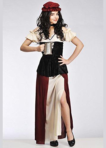 Magic Box Int. Plus -Size-mittelalterliche Tavern Wench Costume