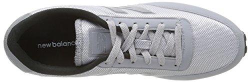 New Balance U410 Scarpe da Ginnastica Basse, Uomo Grigio (Grey)