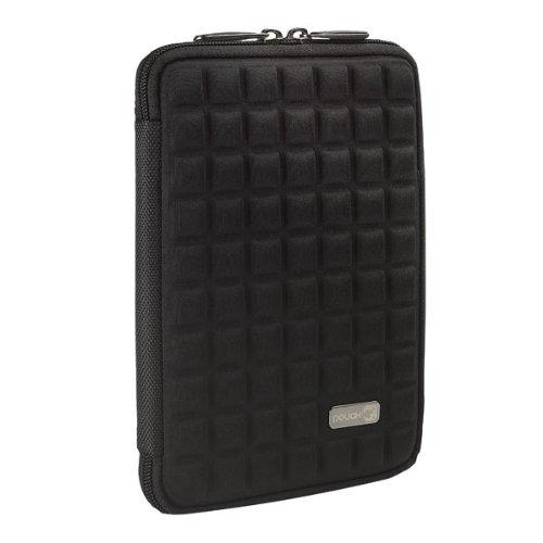 Pouch TSS7BL mit Aufstellfunktion und Zubehörfach für Tablet und Apple iPad mini bis 20,1 cm (7 Zoll) schwarz