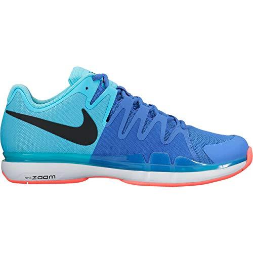 Nike Zoom Vapor 9.5Tour Bambini Scarpe da Tennis Turchese/Blu, Blau, 37,5