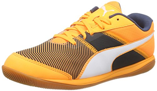 Puma Nevoa Lite V3 Damen Hallenschuhe Orange (orange pop-white-blue wing teal 02)
