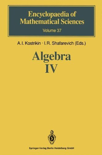 Algebra IV: Infinite Groups. Linear Groups (Encyclopaedia of Mathematical Sciences Book 37) (English Edition)