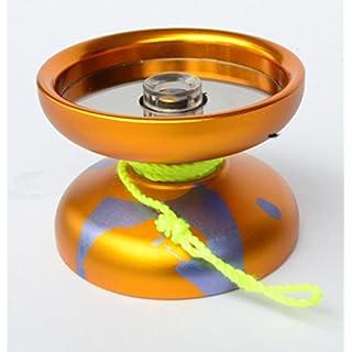 Acid Unresponsive Professional Trick Yo-Yo 2018 Annodized Aluminum Yellow Blue