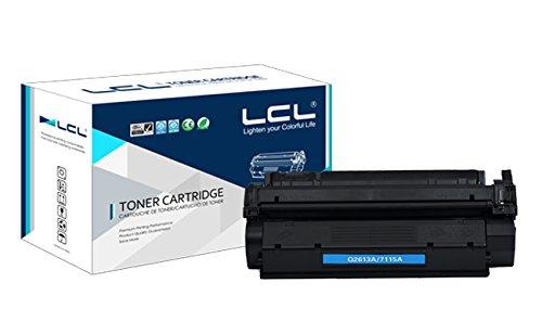 LCL(TM) 13A Q2613A (1-Stück Schwarz) Toner Kompatibel für HP LaserJet 1300/1300N/1300XI