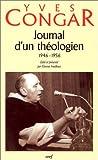 Journal d'un théologien, 1946-1956