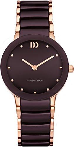 Danish Design Unisex Quartz Watch with IN69Q1065Analogue Quartz Ceramic IN69Q1065