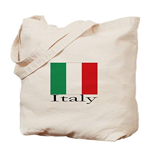 10 Oz Kapuzen-sweatshirt (CafePress–Italien–Leinwand Natur Tasche, Reinigungstuch Einkaufstasche Tote S khaki)
