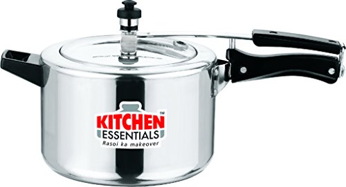 Kitchen Essentials Aluminium Pressure Cooker - 5 Litre INNER LID  available at amazon for Rs.1540