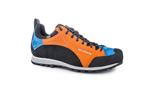 """Damen Trekkingschuhe """"Baltoro GTX"""" orange/blau/schwarz"""