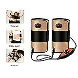 Masajeador de rodilla, con masajeador magnético multifunción de calor y vibración, tratamiento con masajeador eléctrico, dolor de articulación reumatoide, hiperplasia ósea, pierna fría vieja