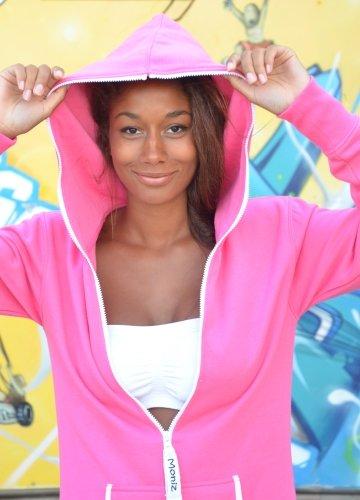 Moniz Damen Jumpsuit Pink