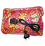 #4: Move on Electric Rechargeble Heating Bag Hot Gel Bottle Pouch Massager Rectangle Shaped (Multicolor)