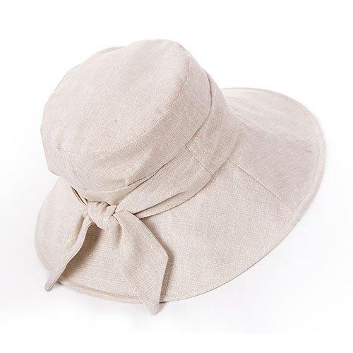 Siggi Ladies Bucket Summer Sun Hat Foldable Wide Brim Packable for Women w/ Chin Strap Test