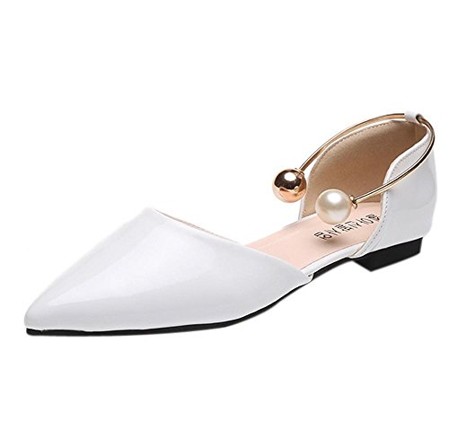 Sandali donna,uomogo scarpe mary jane da donna scarpe donna sandali con zeppa scarpe in pelle vintage slip-on sandalo della piattaforma balletto di danza mocassini casual