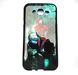 Sparkling Spidermen Printed Back Cover For Samsung Galaxy J7 by ROKAYA