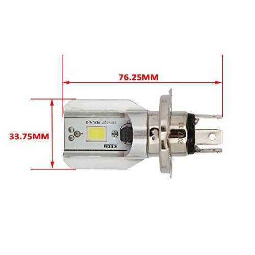 Rapide Pro Ampoule LED 6000 K 12 V HS1 H4 LED pour moto scooter Moto H4 Phare pour moto HS1 cyclomoteur ampoules