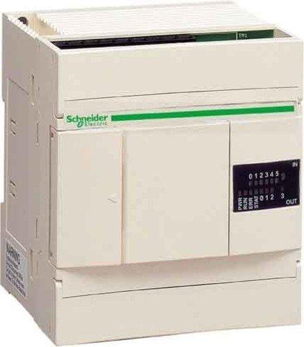 Schneider Electric TWDLCAA10DRF CPU erweiterbar Twido, Netzteil 100–240V Wechselstrom, 6und 24V dc, 4S und Re (Kompakte Relais-controller)