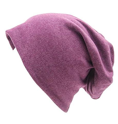 Automne Et Hiver Coton Tricoté Mignon Et Décontracté Chapeau Bonnet Chaud Unisexe Slouch Stretch Outdoor Cap,M-OneSize