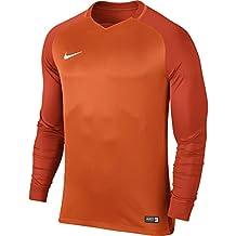 Nike M NK Dry Trophy III JSY LS Camiseta, Hombre, Naranja (Safety Team
