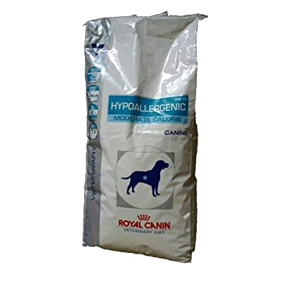 Royal Canin Dog Food Hypoallergenic Moderate Calorie Dog Veterinary Diet 14 Kg