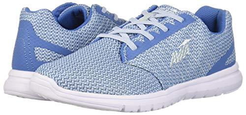 Avia Women's Avi-Solstice Walking Shoe, Chiffon Blue/White, 9 M US