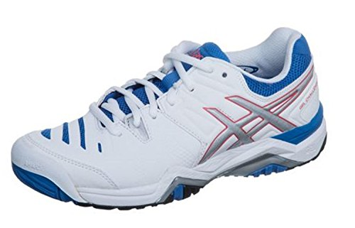 Asics Gel Challenger (Asics Tennisschuhe Gel-Challenger 10 All Court Damen 0193 Art. E554Y Größe 41.5)