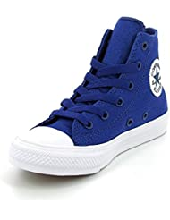 Converse Chuck Taylor All Star II Junior Sodalite Blue Textile Trainers