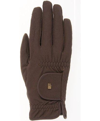 Roeckl -Roeck Grip- Handschuh, Unisex, Reithandschuh, Mokka, Größe 6,5