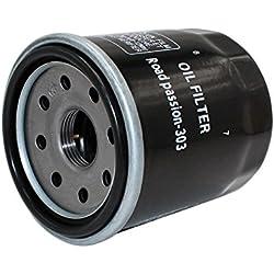 Road Passion Filtro de aceite para HONDA VTX1300 RETRO 1284 2004 VTX1300C 1284 2004-2009 VTX1300S 1284 2003-2007 VTX1300R 1300 2005-2009 VTX1300T 1300 2008 -2009