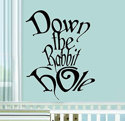 Runter vom Kaninchenbau beliebte Charaktere Kinder Wandtattoo