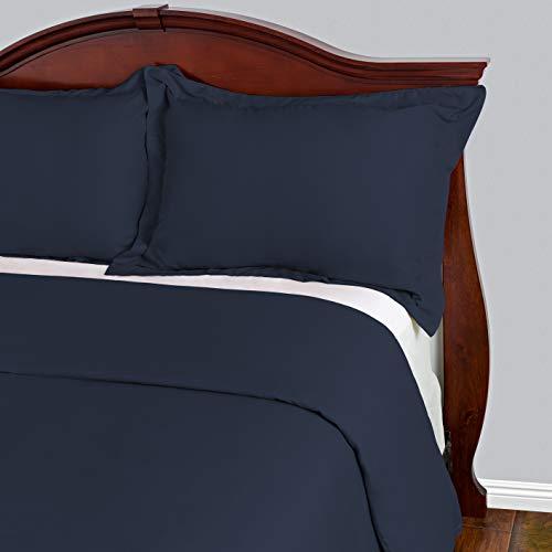Cosy House Collection Bettwaren Sets 3-faltenfrei und schmutzabweisend-reißfest-100% Mikrofaser-Die meisten Langlebig Tröster Arbeit Hypoallergen Bettwäsche Cover, marineblau, Full/Queen -