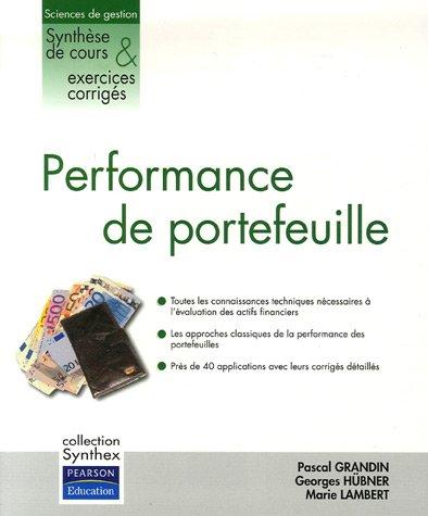 Performance de portefeuille