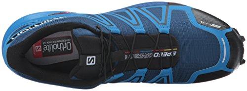 Salomon Speedcross 4 Cs, Chaussures de Running Entrainement Homme Bleu (Blue Depth/Bright Blue/Black)