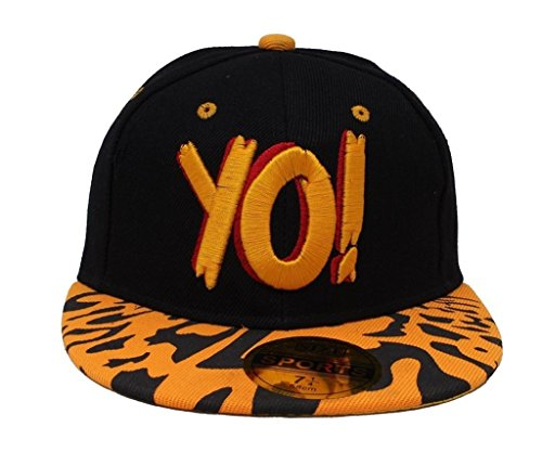 Krystle YO Hip Hop Snapback 3D Cap  available at amazon for Rs.225