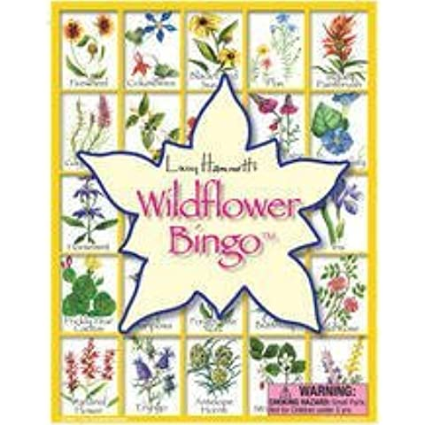 Wildflower Bingo - 42 Calling Cards with Info, 6 playing boards, and Chips by Gold Crest
