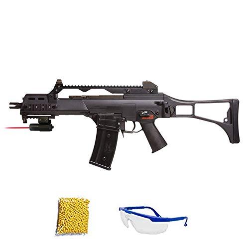 GOLDEN EAGLE G36 SUBFUSIL Fusil de Airsoft Calibre 6mm (Arma Larga de Aire Suave de Bolas de plástico o PVC). Sistema: ELÉCTRICO, 1 Julio