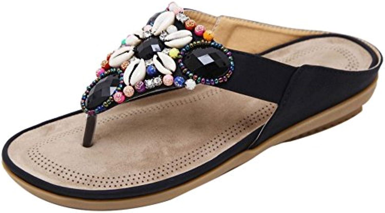 monsieur / madame razamaza femmes string toe mules summer mules toe de haute qualité et frais généraux en fonction de conception moderne e007d7