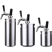 Global Brands Online Nitro Cold Brew Coffee Maker Mini Acero Inoxidable Keg Home Brew Coffee Cup System Kit