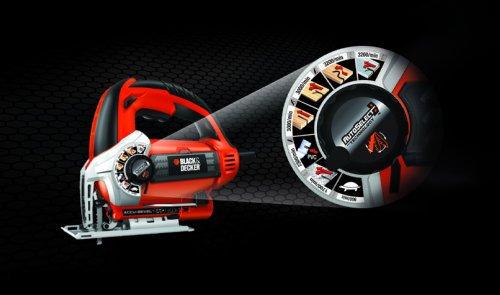 STANLEY BLACK & DECKER IB - SIERRA CALAR 600W  AUTOSELECT KS900SK-QS