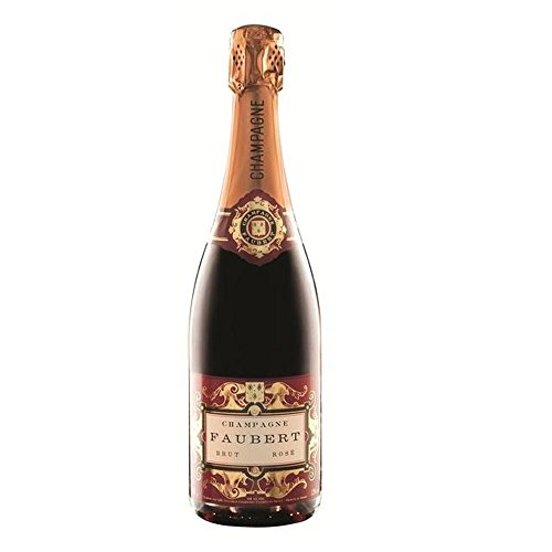 Champagne Faubert Rose NV 75cl - (Packung mit 6)