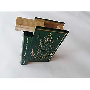 Grün geheime Puzzle magische Bücher Kasten schöne Schmuckkoffer Überraschung mit Geheimfach im Gehirn Teaser