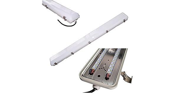 Plafoniere Neon Industriali Prezzi : Plafoniera led solar bes 120 cm struttura industriale neon w lampada