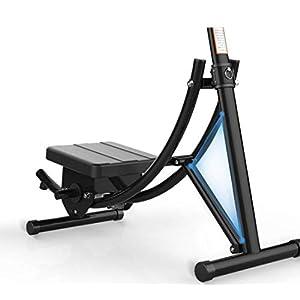WEI Abdominal- Muskel-Trainer-Faltende Achterbahn-Schönheits-Taille-Abdominal- Maschinen-Inneneignung-Ausrüstung,Schwarz,Einheitsgröße