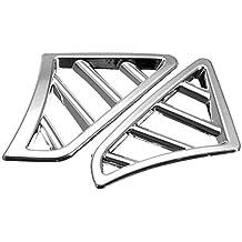 6pcs / set coches de estilo ABS cromo del coche salida de aire del ajuste de la cubierta Fit Marco de la decoración y los accesorios de automóviles KIA RIO K2