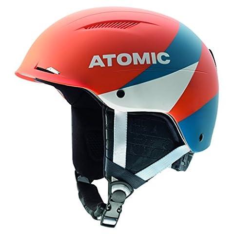 Atomic, Unise Casque de Ski et Snowboard Polyvalent, Ventilation Passive, Live Fit, Taille S, Circonférence 53-56 cm, REDSTER LF, Orange, AN5005364S
