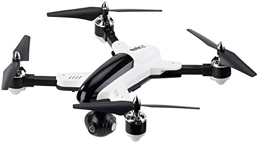 Simulus Drohne: Faltbarer FPV-Quadrocopter m. HD-Cam, WiFi, 2,4-GHz-Fernsteuerung, App (Spycopter) Drohnen-cams
