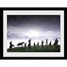 GB eye LTD, El Señor de los Anillos, Fellowship, Fotografía enmarcada, 40 x 30 cm