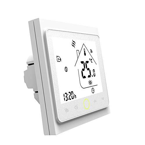 Festnight Termostato Programable para Calentador Agua Caldera Gas Programable